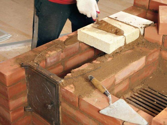 Какой кирпич использовать для изготовления камина, практика выбора
