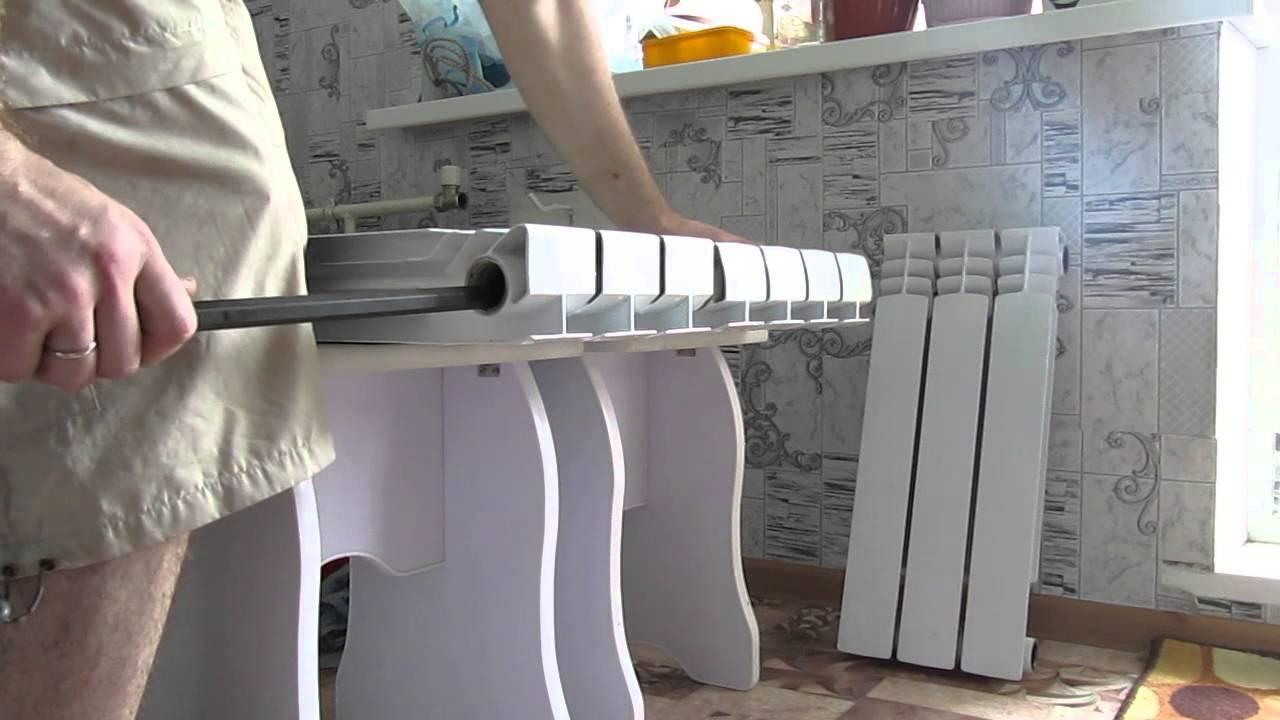 Ремонт алюминиевых радиаторов - что делать, если потекли батареи