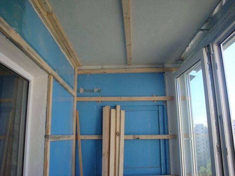 Советы по обшивке балкона вагонкой своими руками