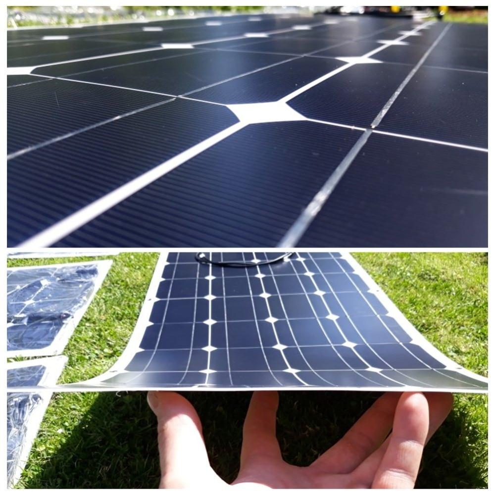 Гибкие солнечные панели: батареи российского и импортного производства, устройства на 100 и 25 вт