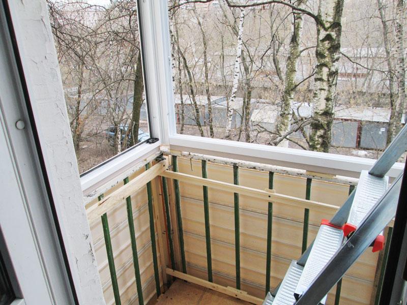 Как обновить, утеплить или заменить парапет на балконе?
