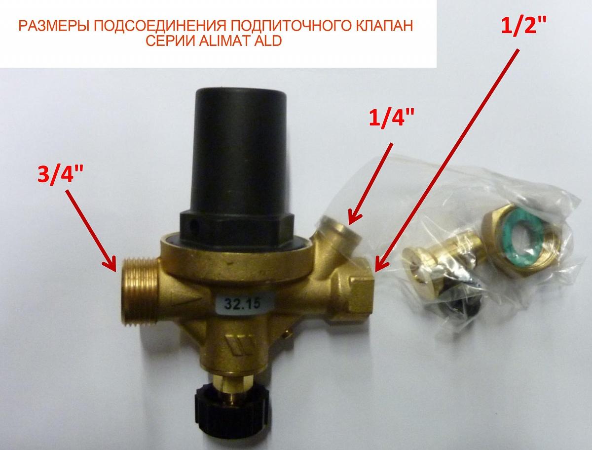 Клапаны на систему отопления назначение и принцип работы
