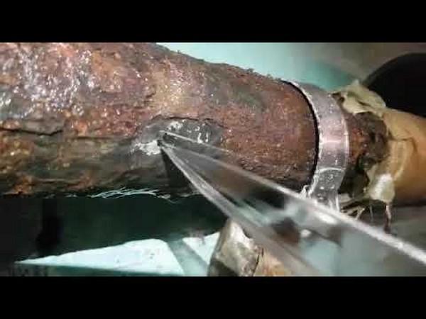 Методы устранения течи в водопроводных трубах
