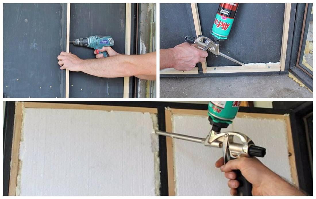 Как утеплить дверь своими руками?