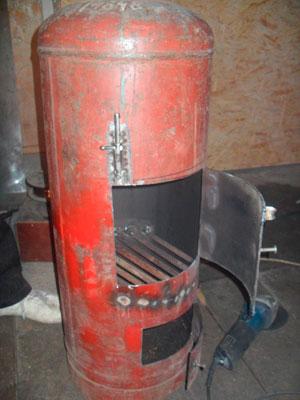 Печь из газового баллона своими руками - бубафоня, ракета, буржуйка и на отработке