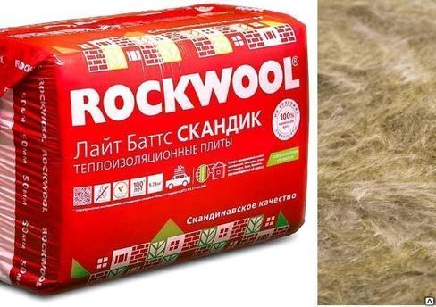 Утеплитель роквул (rockwool) лайт баттс - характеристики
