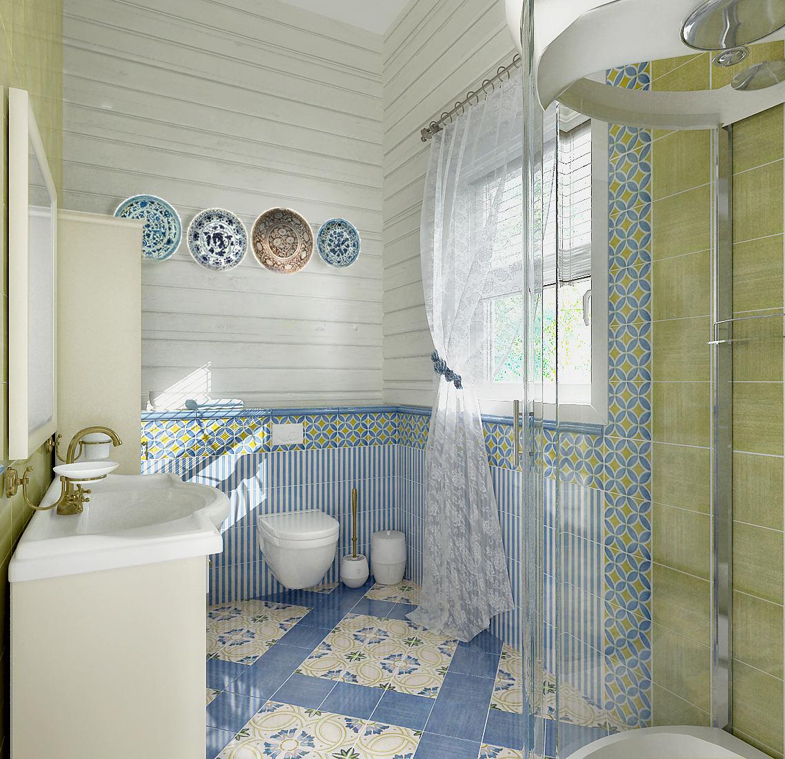 Ванная в стиле прованс: уют в квартире, как подобрать мебель, плитку и зеркало, как правильно оформить маленькую комнату, особенности дизайна, фото интерьеров