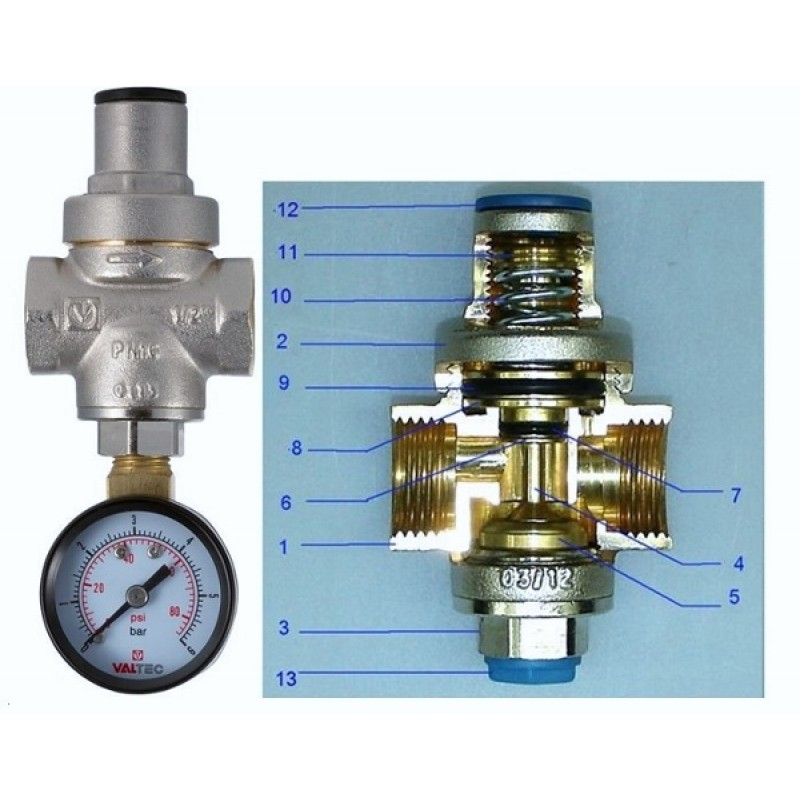 Регулятор давления воды в системе водоснабжения: виды и монтаж
