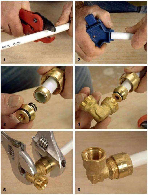 Соединение металлопластиковых труб