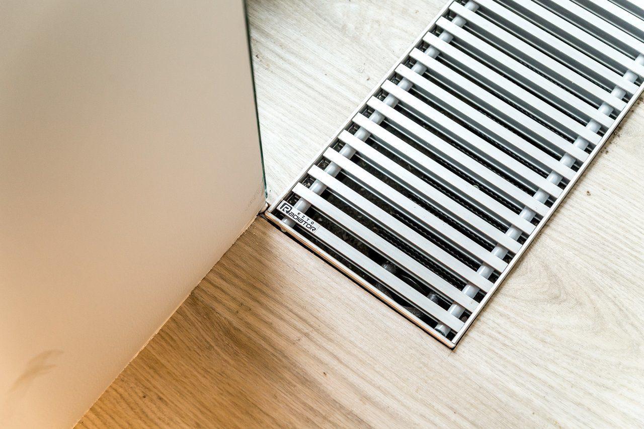 Внутрипольные конвекторы отопления: что это такое, электрический встроенный тип, подключение прибора, встраиваемого в пол