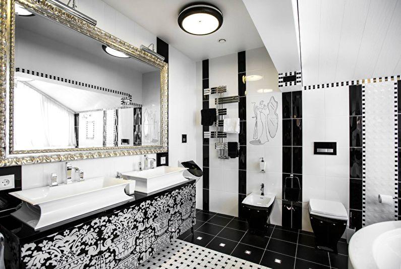 Черная ванная: 105 фото правильных сочетаний и ошибки при выборе аксессуаров