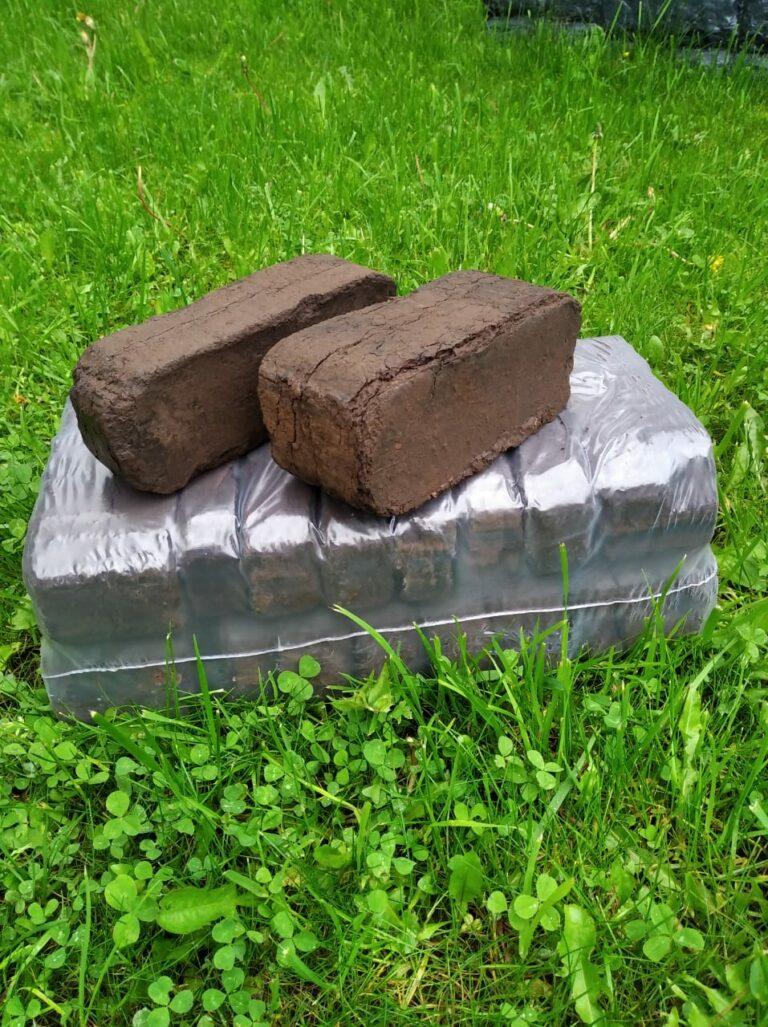 Производство и виды топливных прессованных брикетов из торфа