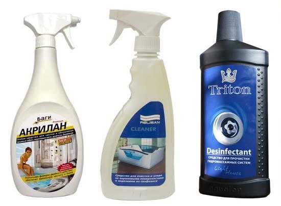 Выбираем средства для чистки акриловых ванн: сравнительный обзор