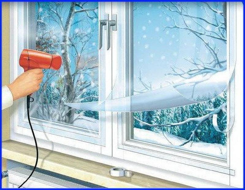 Теплосберегающая пленка для окон — польза для вашего дома!