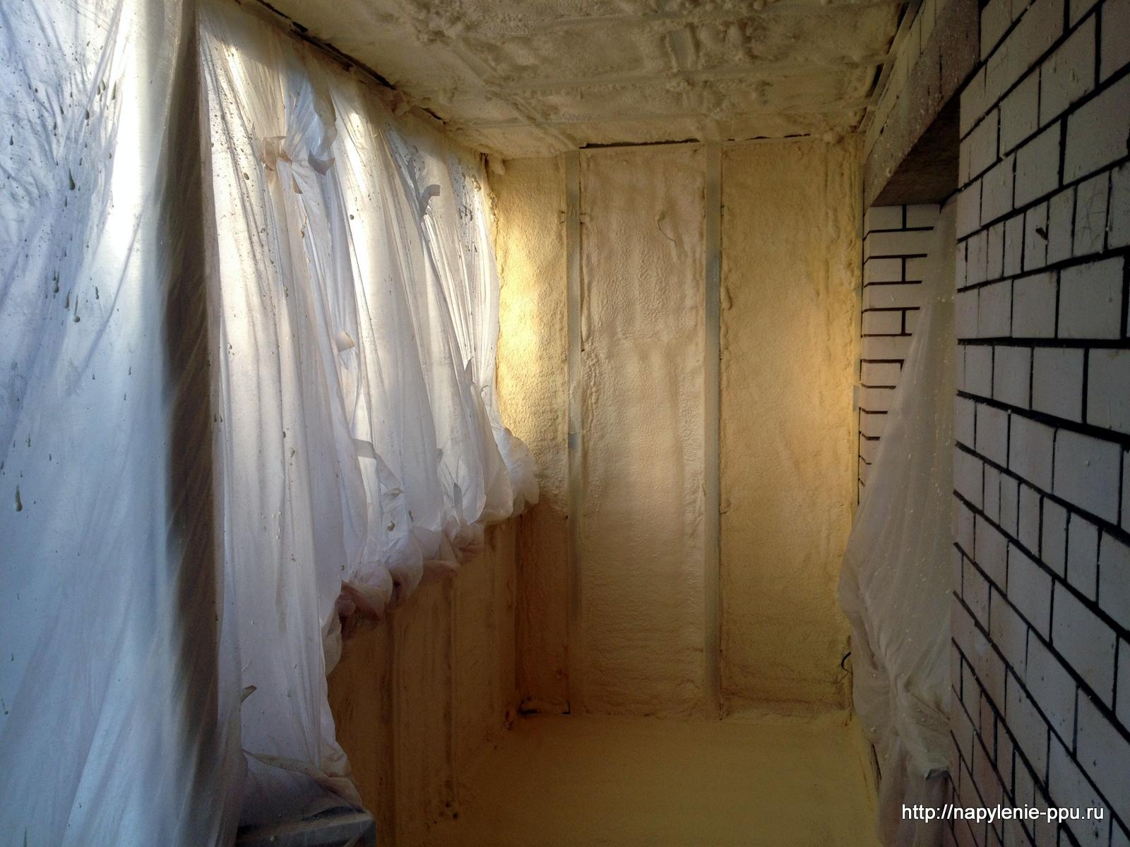 Утепление балкона ппу(пенополиуретаном) своими руками: фото, видео