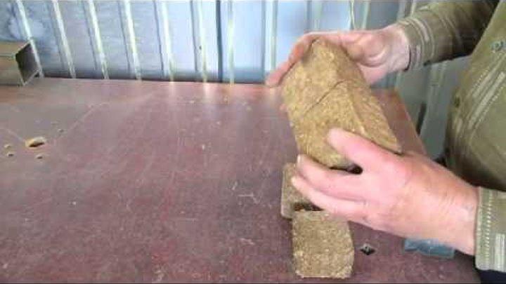 Секреты изготовления топливных брикетов своими руками
