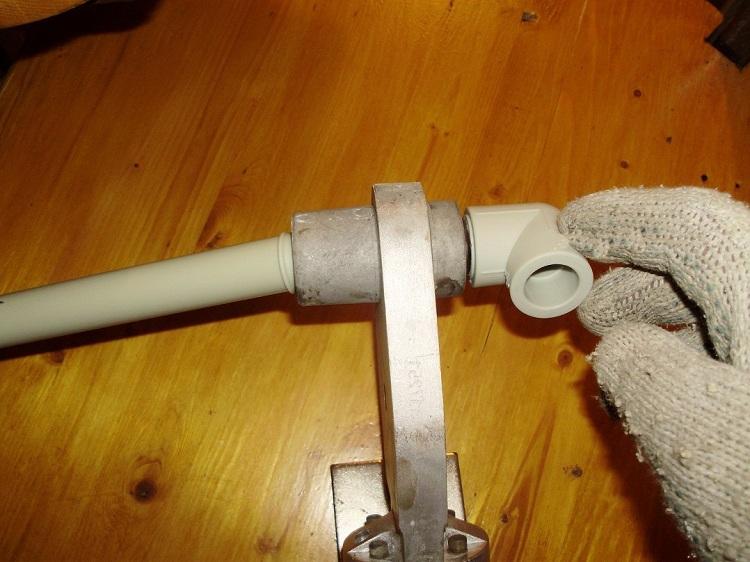 Сварка пластиковых труб своими руками: обучение и пошаговая инструкция