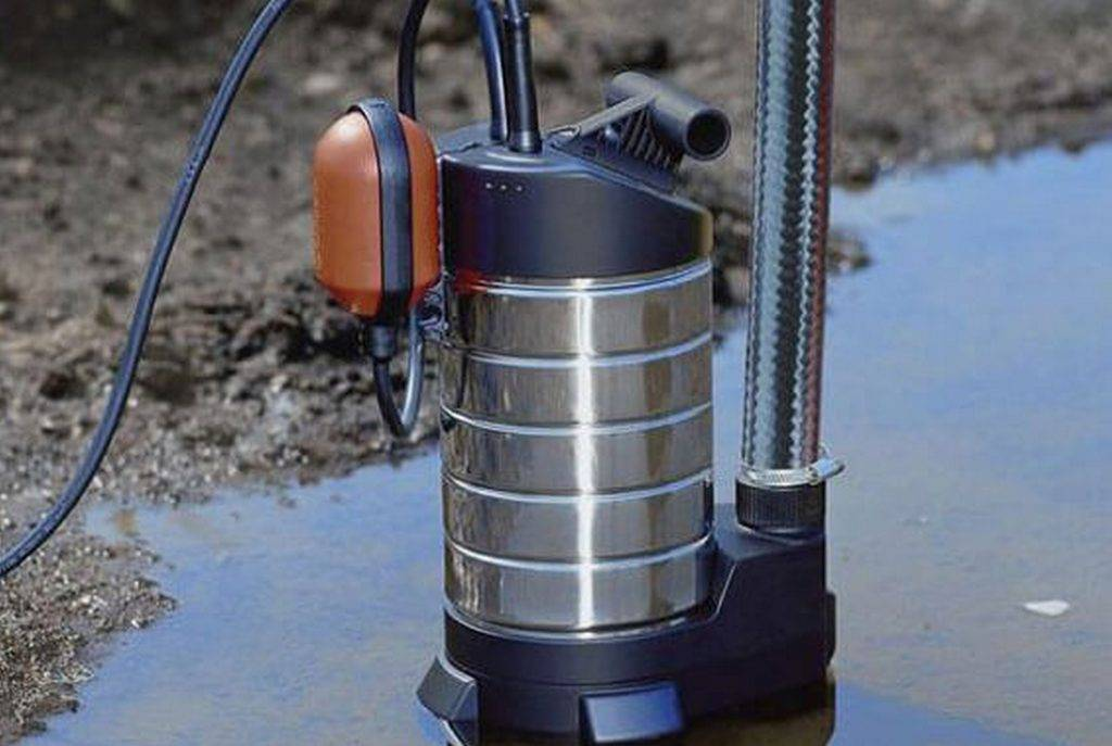 Погружной насос для откачки грязной воды - как выбрать лучшую модель