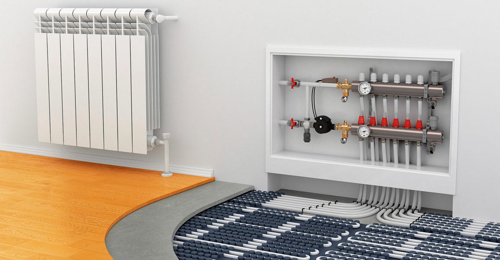 Теплый водяной пол от газового котла в доме – монтаж своими руками