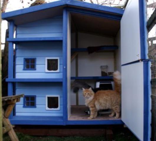 10 способов угодить любимому пушистику – делаем домик для кошки своими руками (1/2) - сам себе мастер - медиаплатформа миртесен
