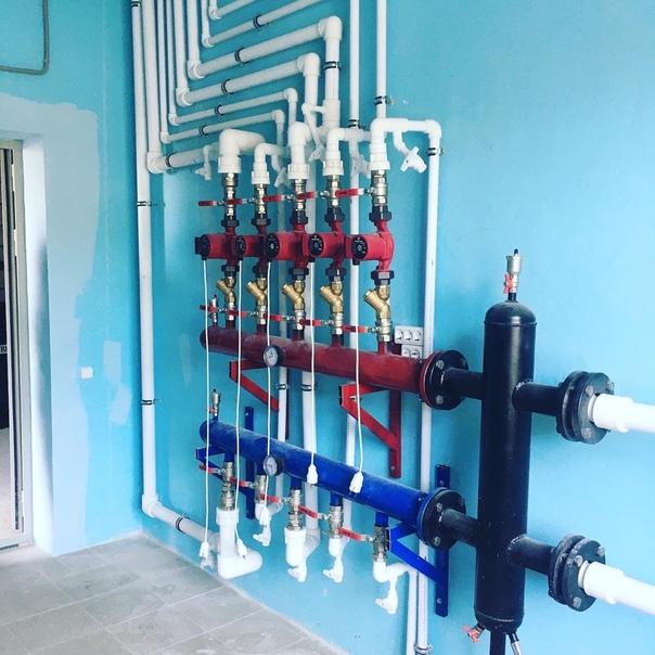 Гидрострелка с коллектором схема изготовления | всё об отоплении