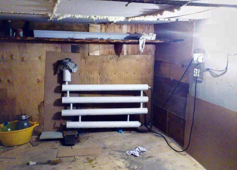 Как не дорого сделать отопление в гараже своими руками: подробная инструкция