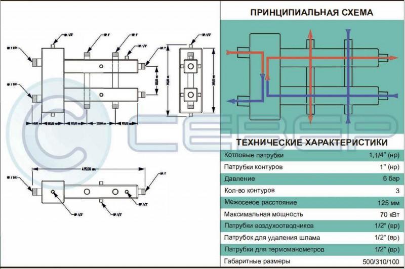 Гидрострелка Север: устройство и принцип действия, критерии выбора оборудования