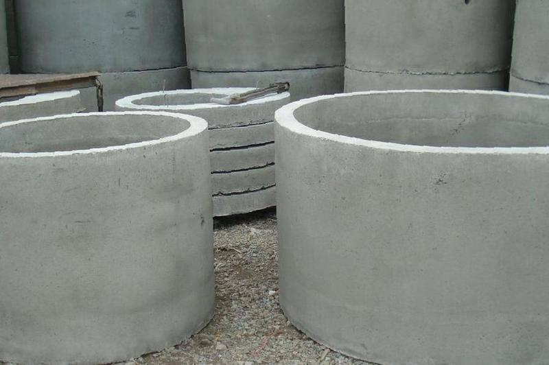 Бетонные кольца для колодца (47 фото): колодезные жби-продукты, размеры железобетонных вариантов, жб-плиты диаметром 2 м