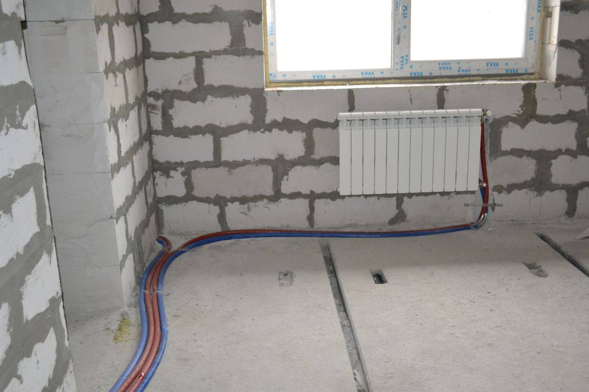 Что такое лучевая система разводки отопления в частном доме: плюсы и минусы, особенности подключения