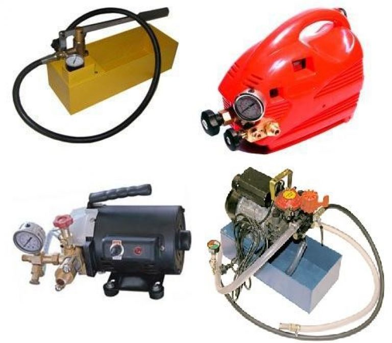 Насос для опрессовки отопления: устройство, функции и принцип работы