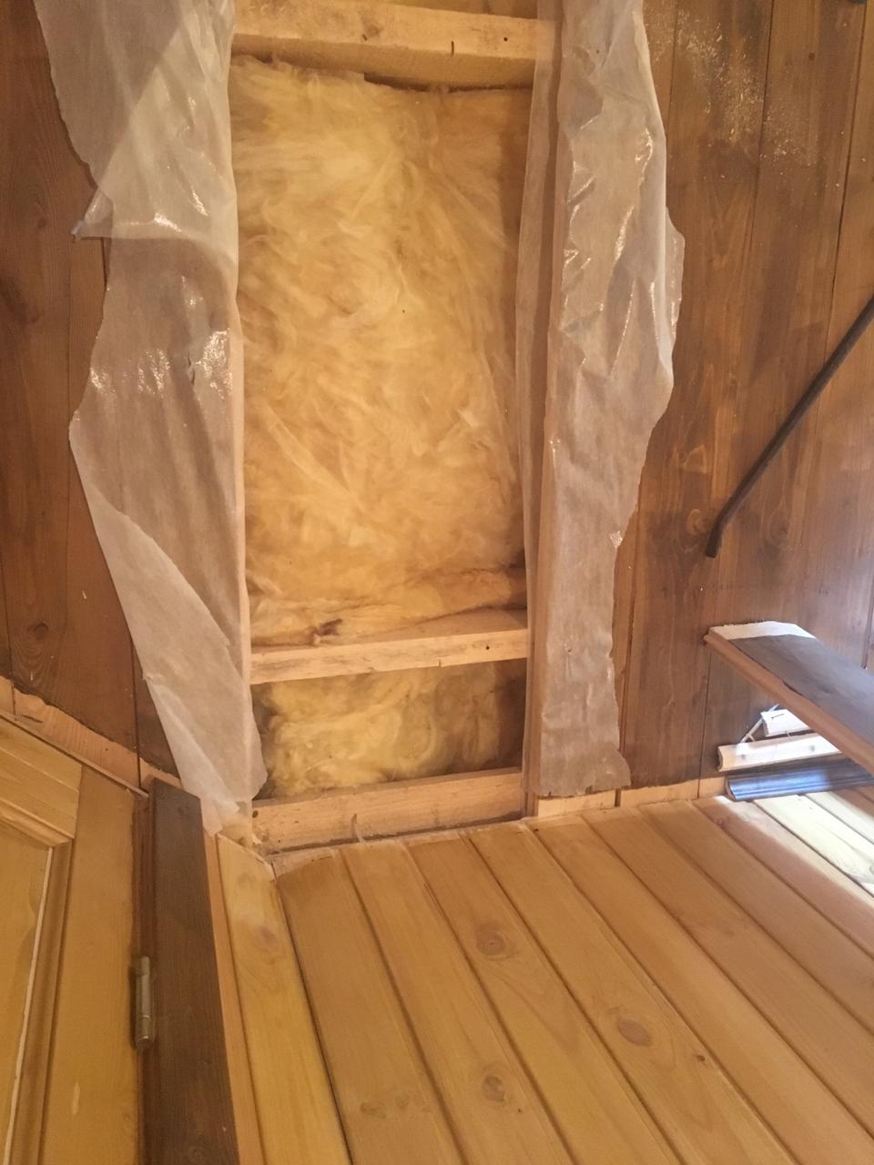 Пароизоляция и утепление стен и потолка каркасной бани базальтовой ватой