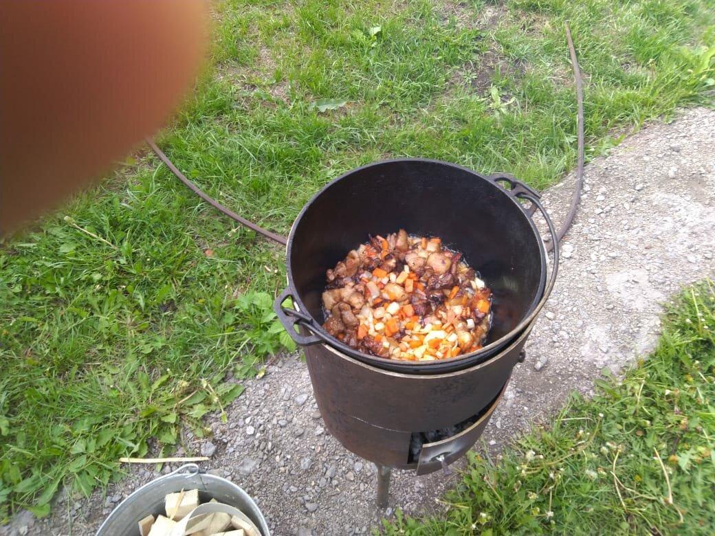 Печь под казан из кирпича своими руками: проекты с барбекю, порядовка для кирпичной печки