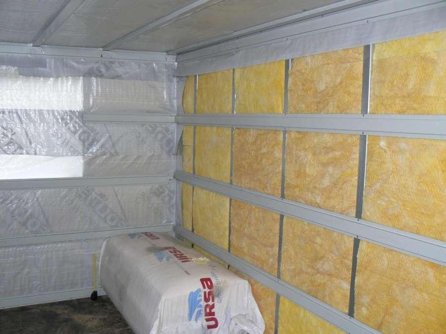 Утепление гаража пенопластом изнутри: оптимальная теплоизоляция