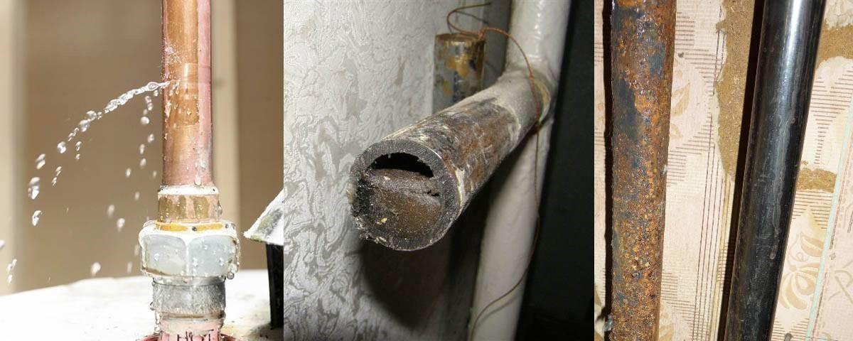 Как устранить течь в трубе отопления: капает труба, что делать, если подтекает, течет