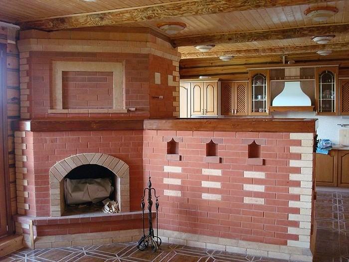 Отделка печей своими руками: как отделать кирпичную печь в доме плиткой, камнем, изразцами
