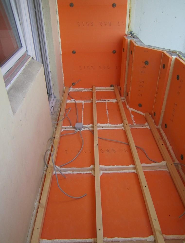 Как правильно утеплить балкон и лоджию пеноплексом: технология