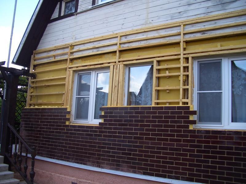 Фасадные панели с утеплителем для наружной облицовки дома