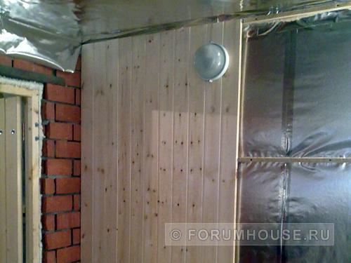 Все про утепление стен в бане (внутри и снаружи)