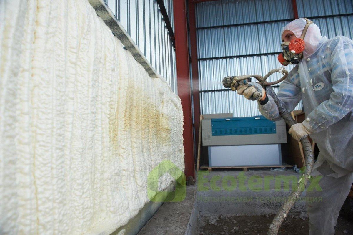 Утепление бескаркасного ангара минватой или пенополиуретаном — группа компаний «смк»
