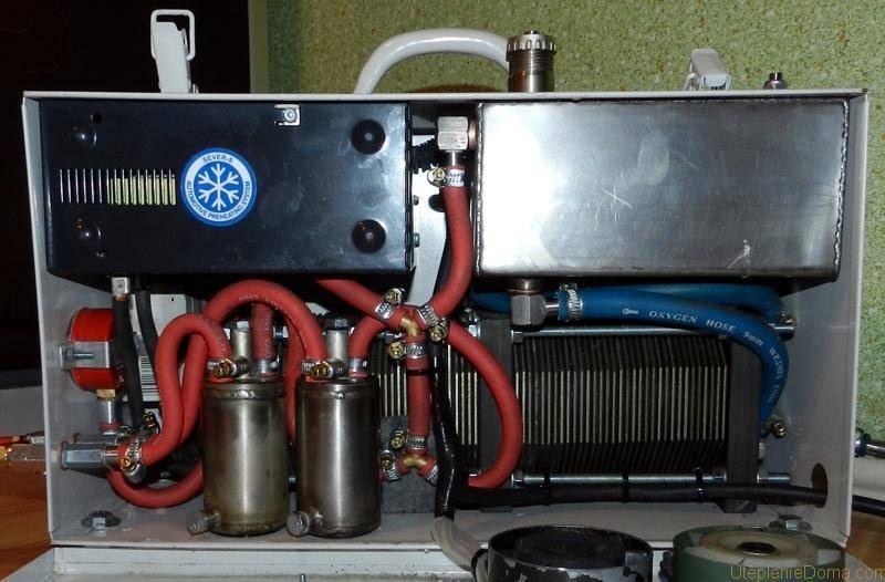 Отопление газом Брауна