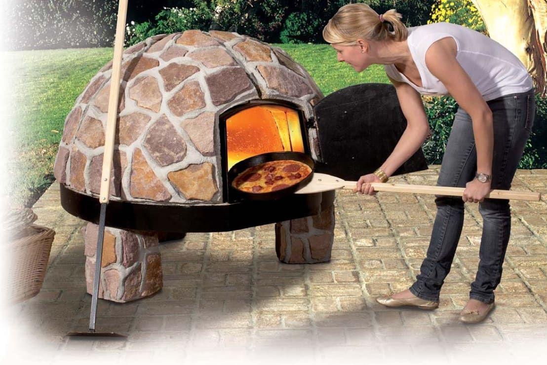 Печь для пиццы на дровах своими руками