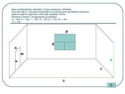 Как посчитать площадь - комнаты стены пола потолка