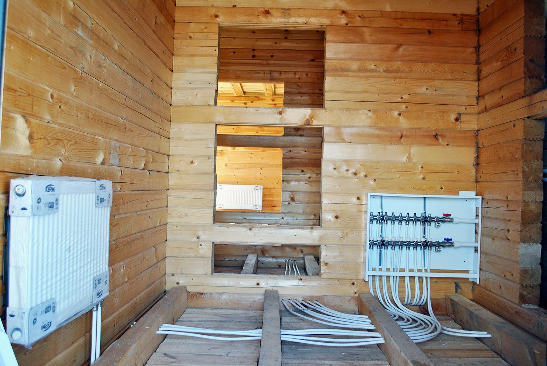 Особенности отопления в деревянном доме | строительный блог вити петрова