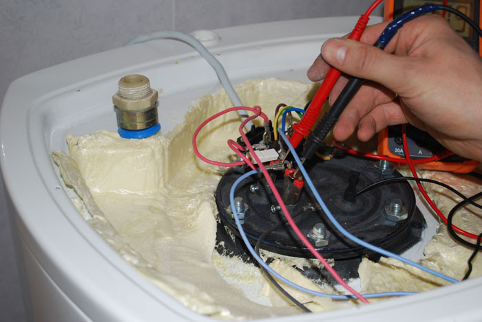 Ремонт водонагревателя своими руками - неисправности и порядок устранения
