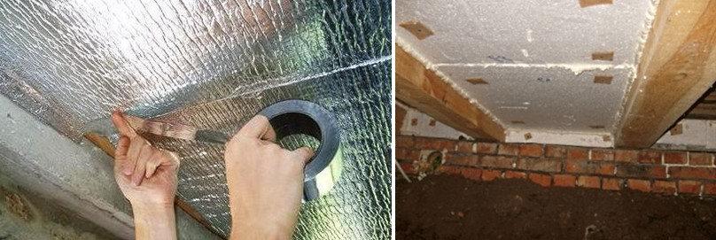 Утепляем бетонный потолок: изнутри, в частном доме, в подвале многоквартирного дома
