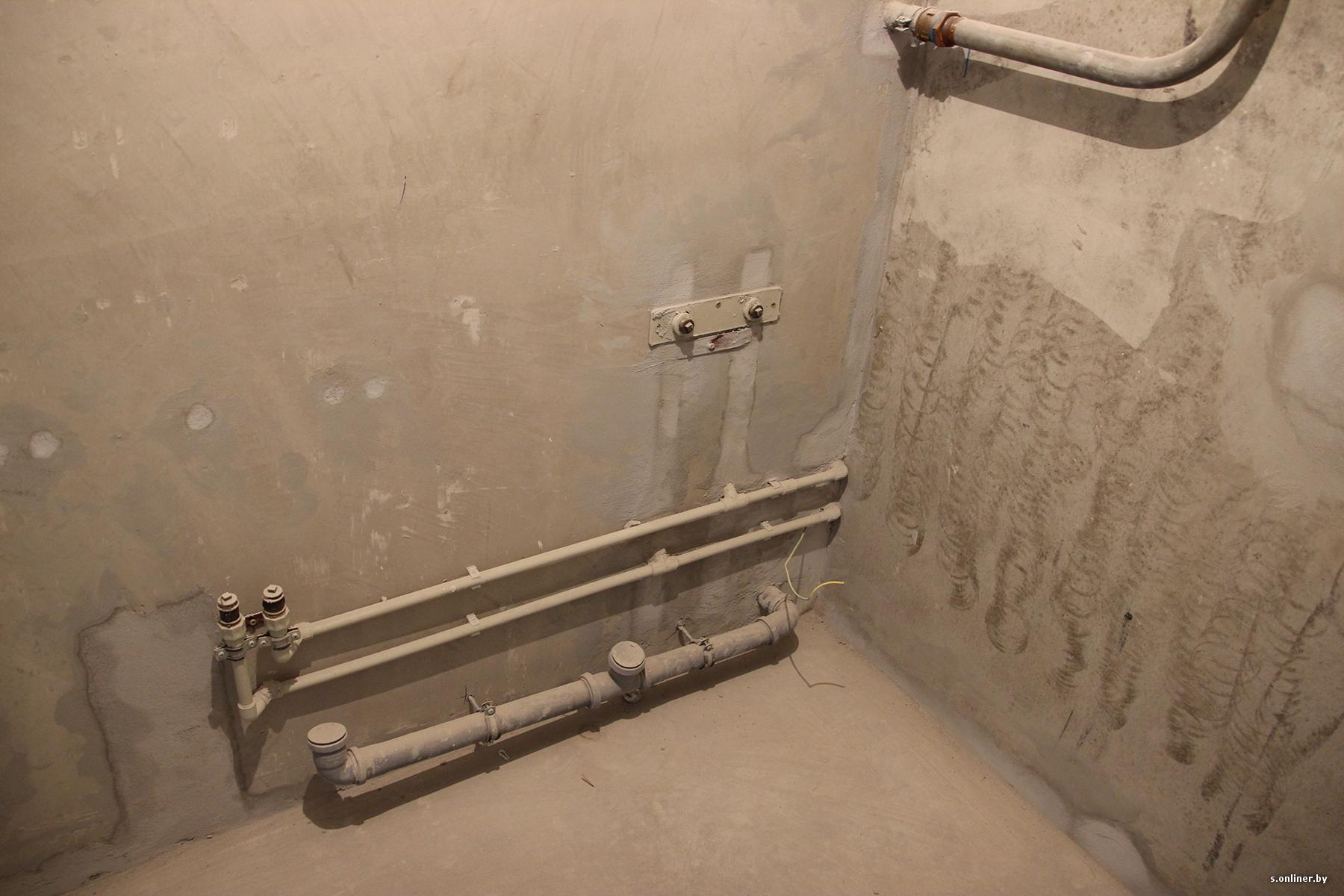 Как перенести полотенцесушитель на другую стену