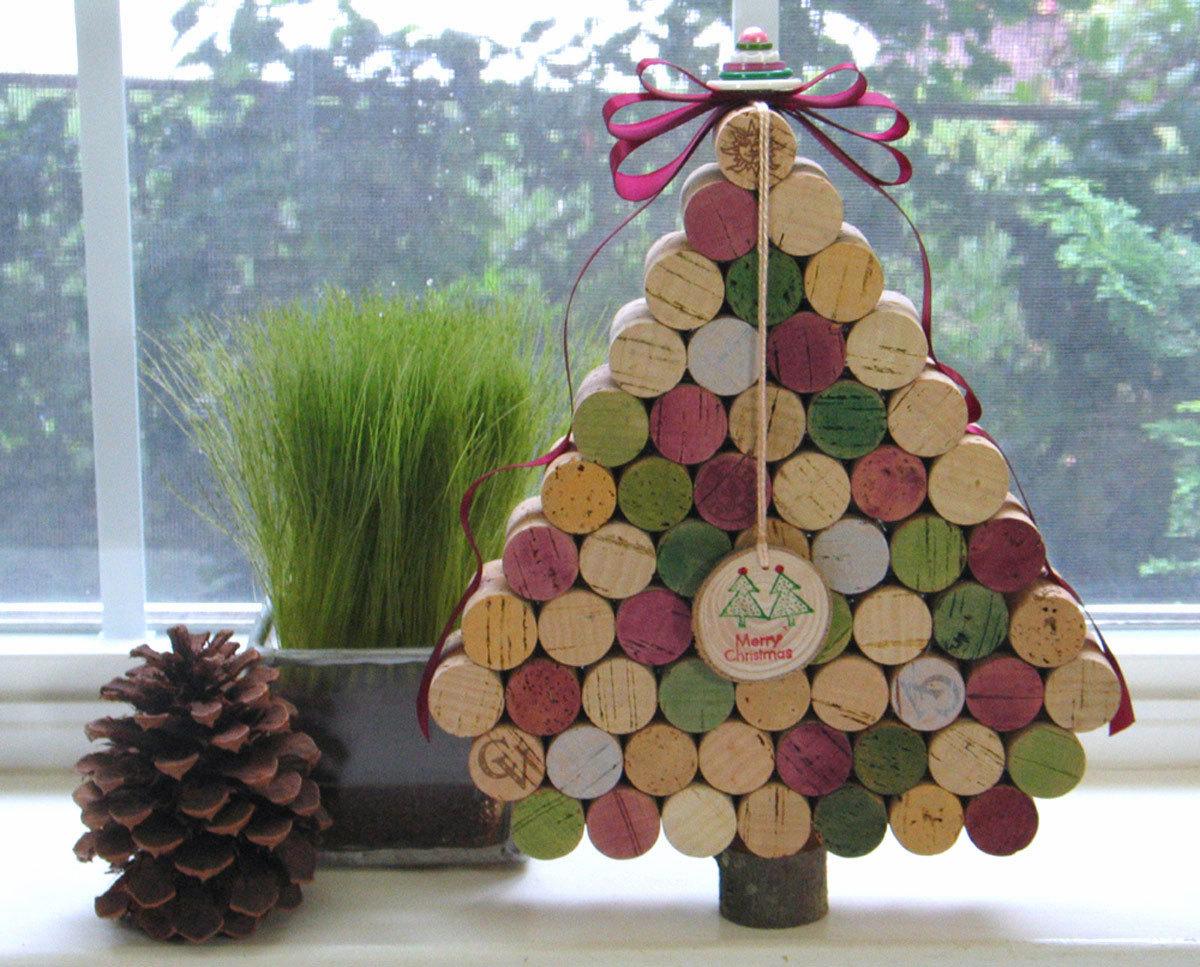 Елка своими руками - новогодние и декоративные изделия для начинающих мастеров (135 фото и видео)