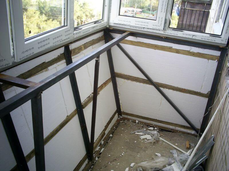 Как утеплить балкон своими руками — пошаговая инструкция
