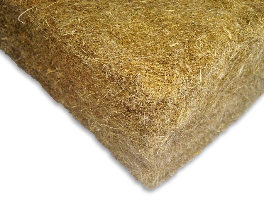 Льняной утеплитель: недостатки материалов из льна в плитах, как осуществляется производство