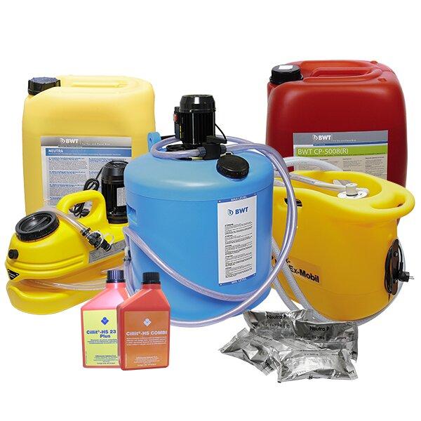 Химическая промывка котлов: описание доступных средств и правила исполнения